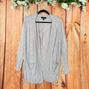 Mossimo Open Front Knit Cardigan w/Pockets 1284CH3